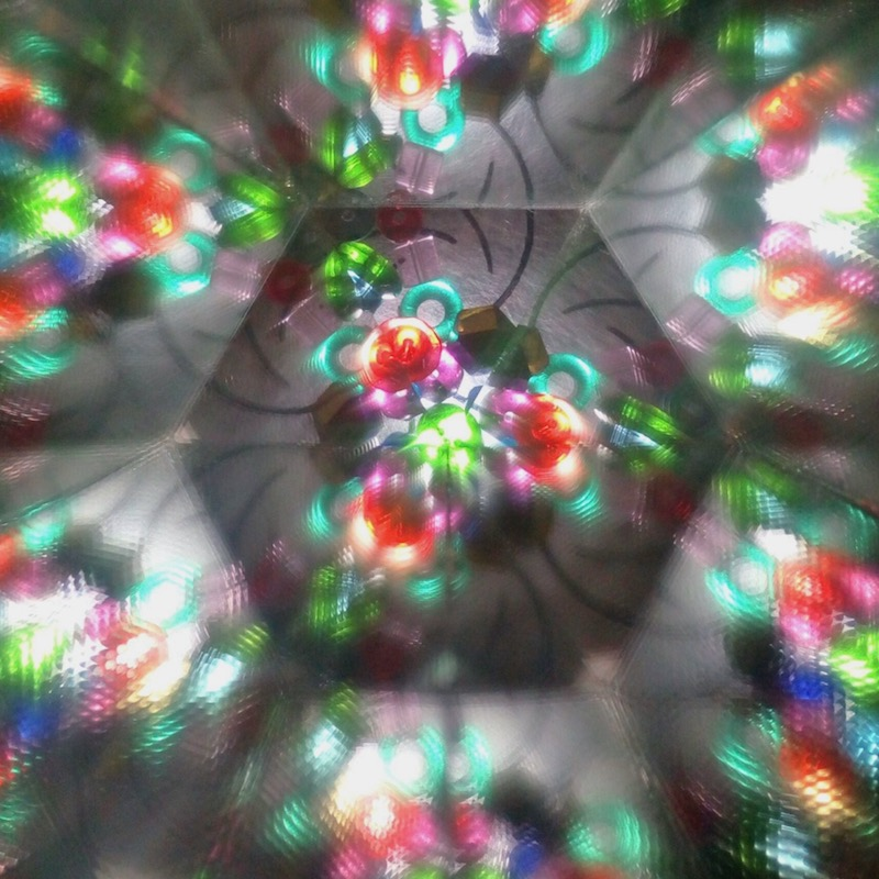 Colors in a kaleidoscope - 2