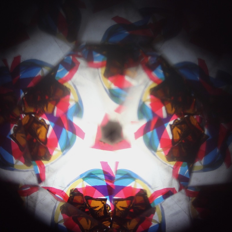 Colors in a kaleidoscope